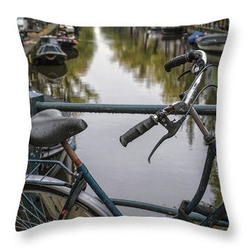 Weary Traveller Throw Pillow