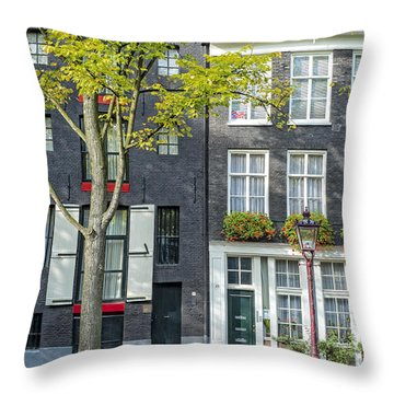 Tall And Elegant Throw Pillow