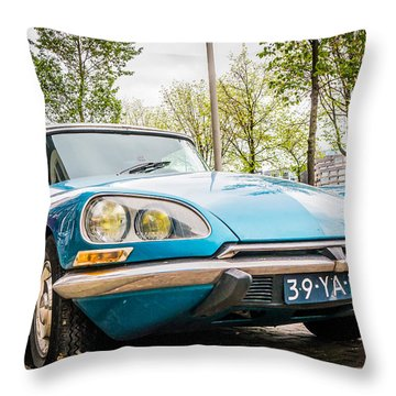 Amsterdam Citroen Throw Pillow