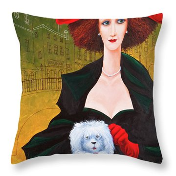 Amsterdam Georgia And Toto Throw Pillow