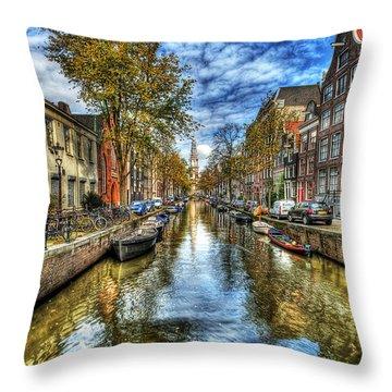 Amsterdam Throw Pillow by Svetlana Sewell