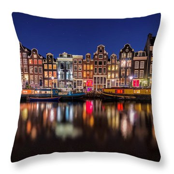 Amsterdamn Throw Pillow