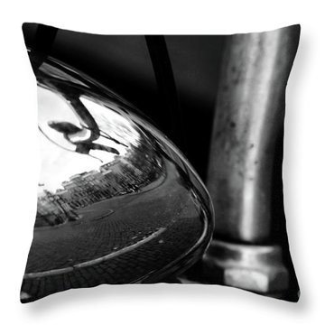 Amsterdam's Reflection Throw Pillow by Ana Mireles