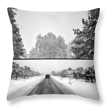 Throw Pillow featuring the photograph Answer by Mark Ross