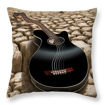 An Acoustic Nightmare 2 Throw Pillow