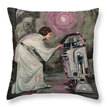 An Act Of Rebellion Throw Pillow