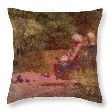An Afternoon In Berlin Throw Pillow