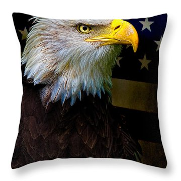 An American Icon Throw Pillow by Chris Lord