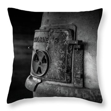An Antique Stove Throw Pillow