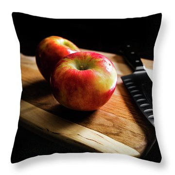 An Apple Or Two Throw Pillow