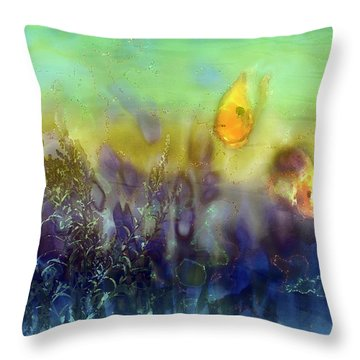 An Aquatic Adventure Throw Pillow