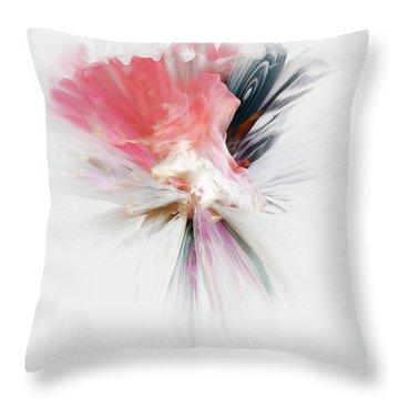 An Aroma Of Grace Throw Pillow