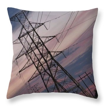 An #austin, #texas #wild Throw Pillow