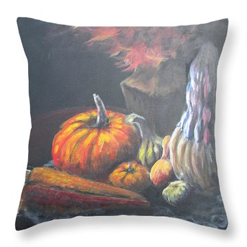 An Autumn Sumphony Throw Pillow