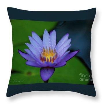 An Awakening Throw Pillow
