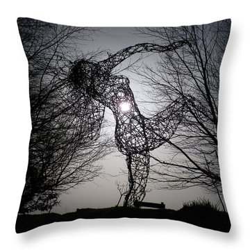 An Eclipse Of The Heart? Throw Pillow