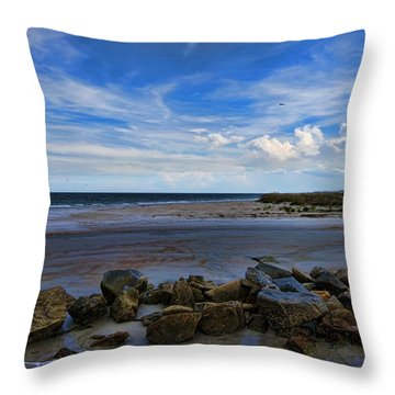 An Endless Summer Throw Pillow by Anthony Baatz