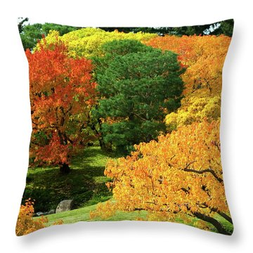 An Explosion Of Color Throw Pillow