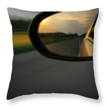 An Eye Back Throw Pillow by Cesare Bargiggia