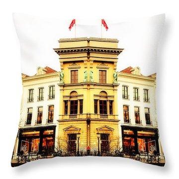 An Idea Of Utrecht Throw Pillow