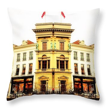 An Idea Of Utrecht Throw Pillow
