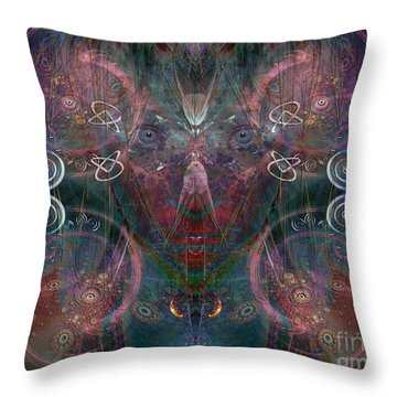Infinite Correlation Throw Pillow