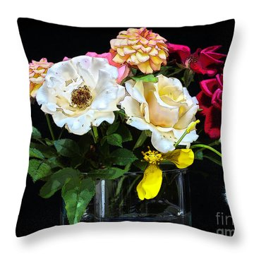 Throw Pillow featuring the photograph An Informal Study by Tom Cameron