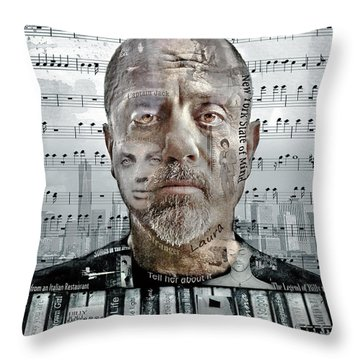 An Innocent Man Throw Pillow