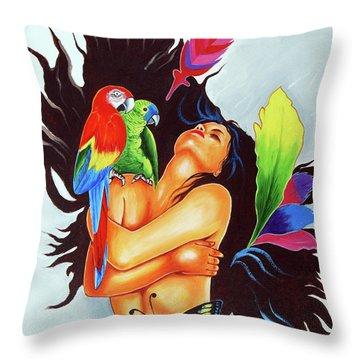 An Inspiration Throw Pillow