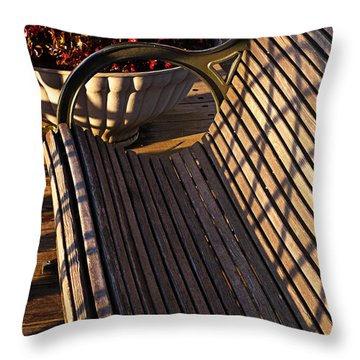An Invitation To Rest Throw Pillow