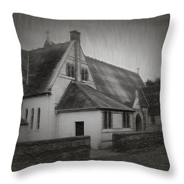 An Irish Church Throw Pillow