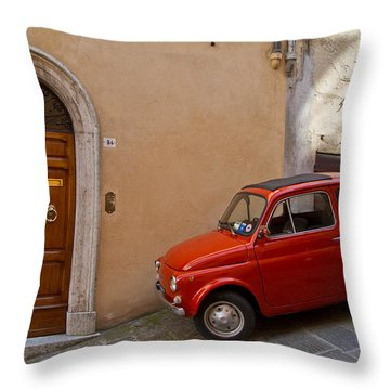 An Italian Classic Throw Pillow by Roger Mullenhour