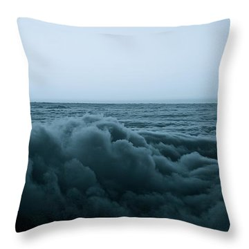 An Ocean Of Clouds Throw Pillow