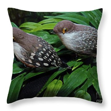 An Old Couple These Two Birds Throw Pillow