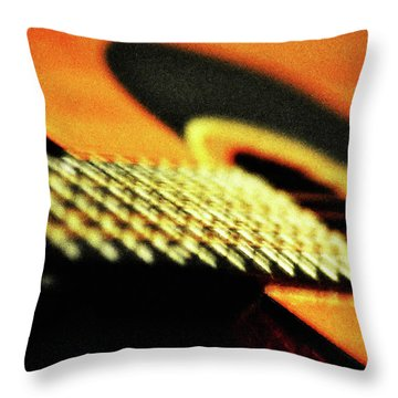 An Old Friend Throw Pillow by Bill Cannon