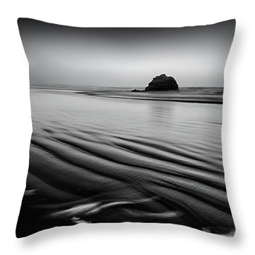 Throw Pillow featuring the photograph An Oregon Morning by Jon Glaser