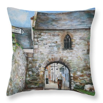An Tholsel Throw Pillow by Marty Garland