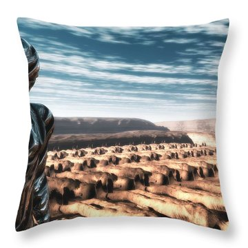 An Untitled Future Throw Pillow