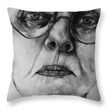 Ana  Throw Pillow by Jean Cormier