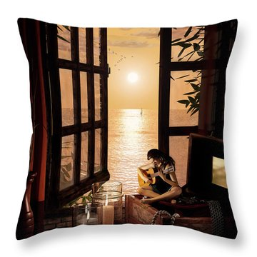 Ana Throw Pillow