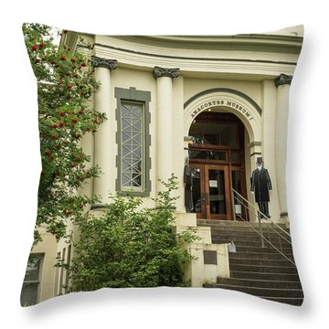 Anacortes Museum Throw Pillow