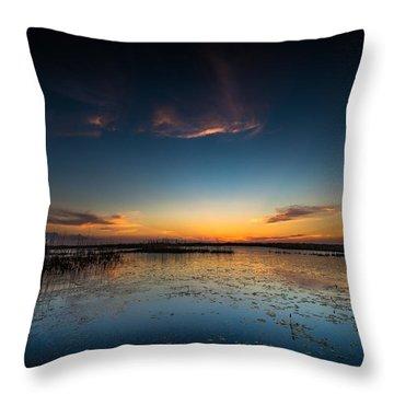 Anahuac Sundown Throw Pillow
