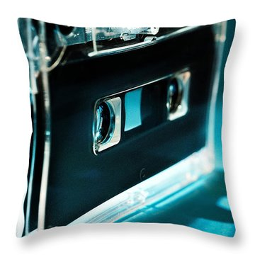 Analog Signal Throw Pillow