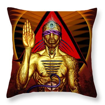 Ancestral Intuition Throw Pillow by Tony Koehl