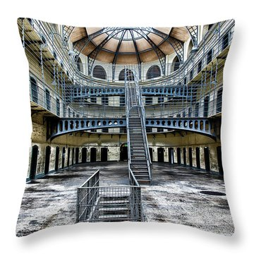 Ancestral Voices Throw Pillow