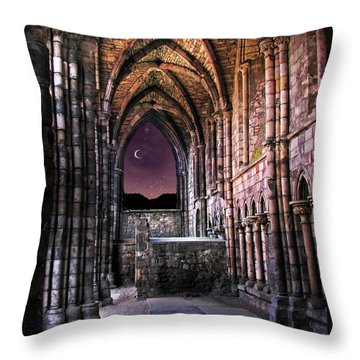 Ancient Alter Throw Pillow
