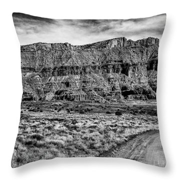Throw Pillow featuring the photograph Ancient Arts by Bitter Buffalo Photography