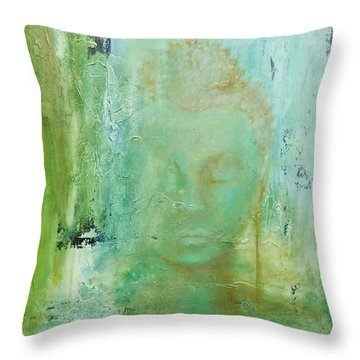 Ancient Buddha Throw Pillow