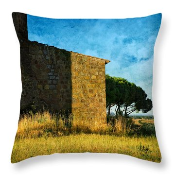 Ancient Church - Italy Throw Pillow
