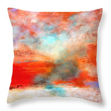 Ancient Dreams II Throw Pillow by M Diane Bonaparte